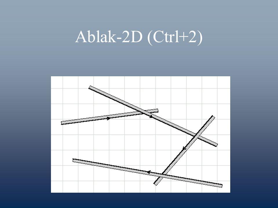 Ablak-2D (Ctrl+2)