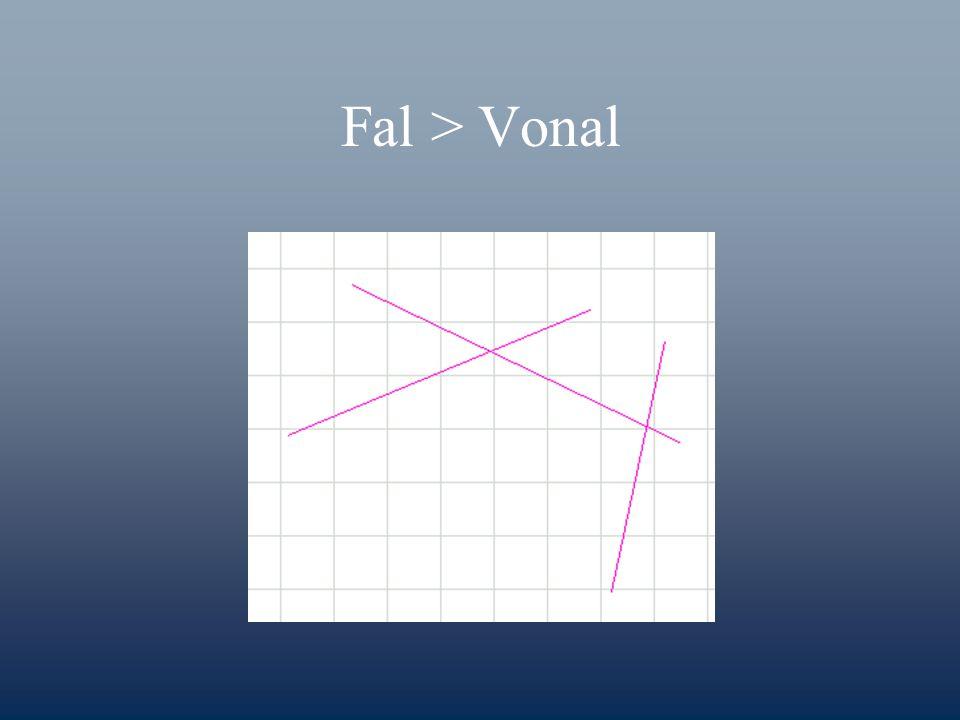 Fal > Vonal