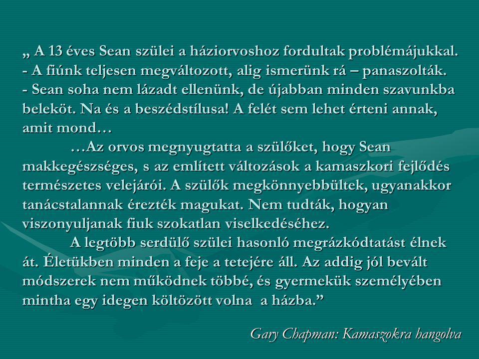 Gary Chapman: Kamaszokra hangolva