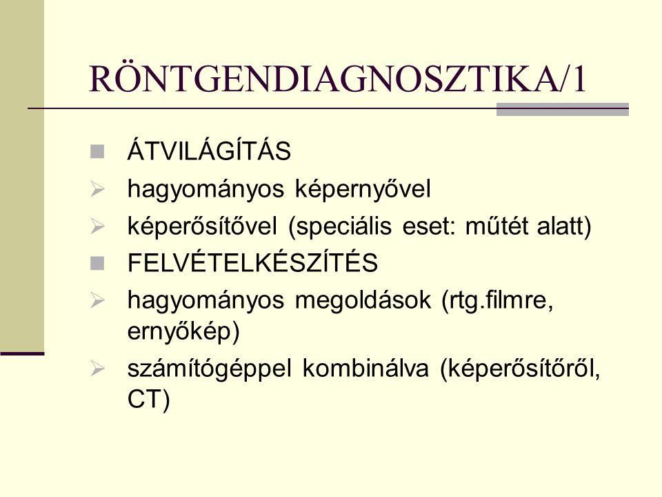 RÖNTGENDIAGNOSZTIKA/1