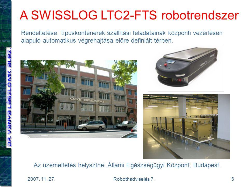 A SWISSLOG LTC2-FTS robotrendszer