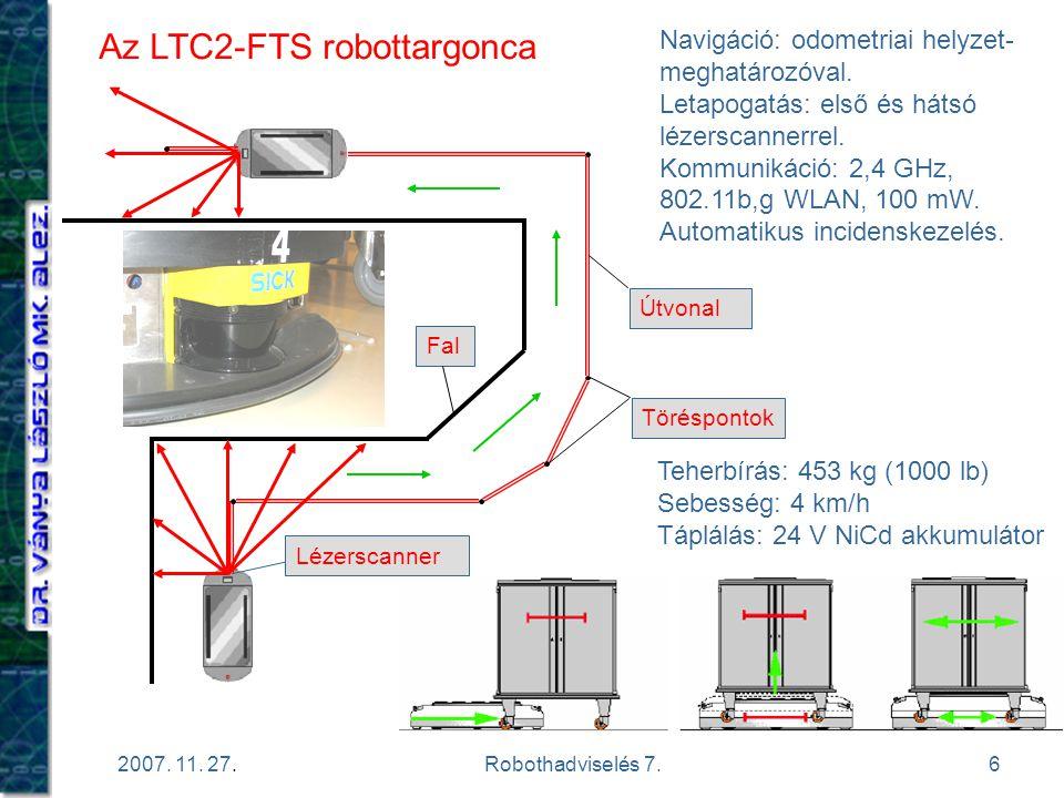 Az LTC2-FTS robottargonca