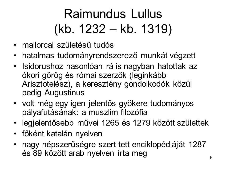 Raimundus Lullus (kb. 1232 – kb. 1319)