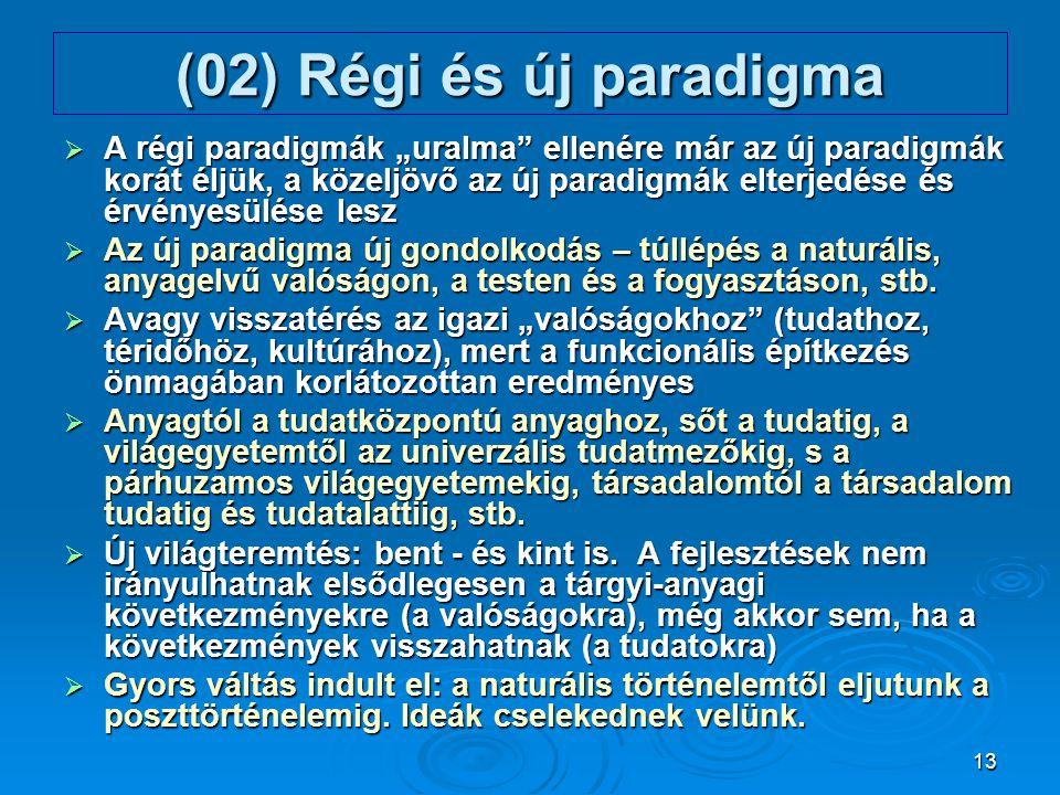 (02) Régi és új paradigma