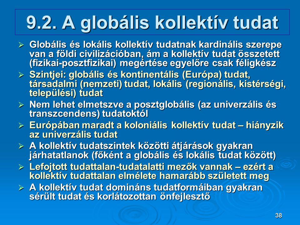 9.2. A globális kollektív tudat