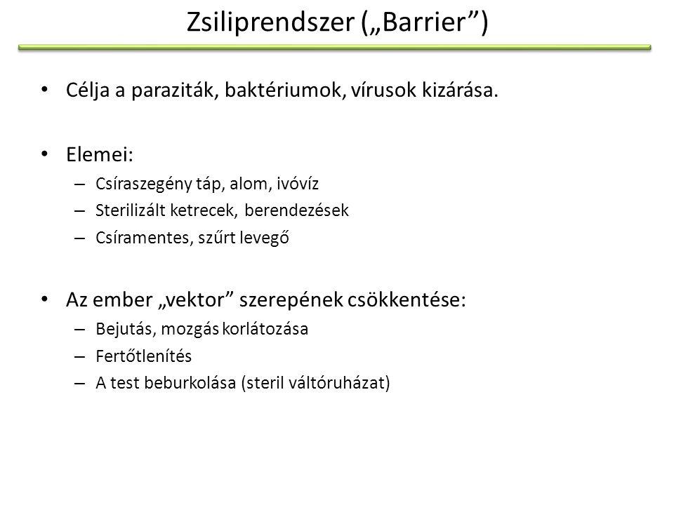 """Zsiliprendszer (""""Barrier )"""