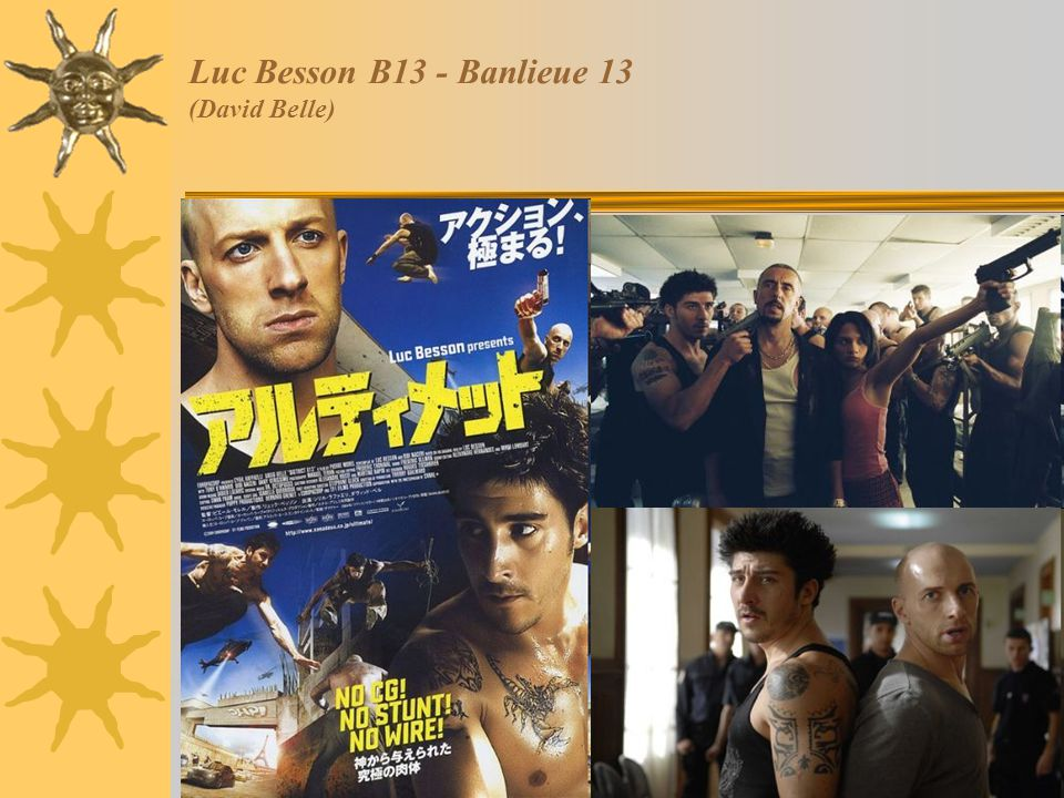 Luc Besson B13 - Banlieue 13 (David Belle)