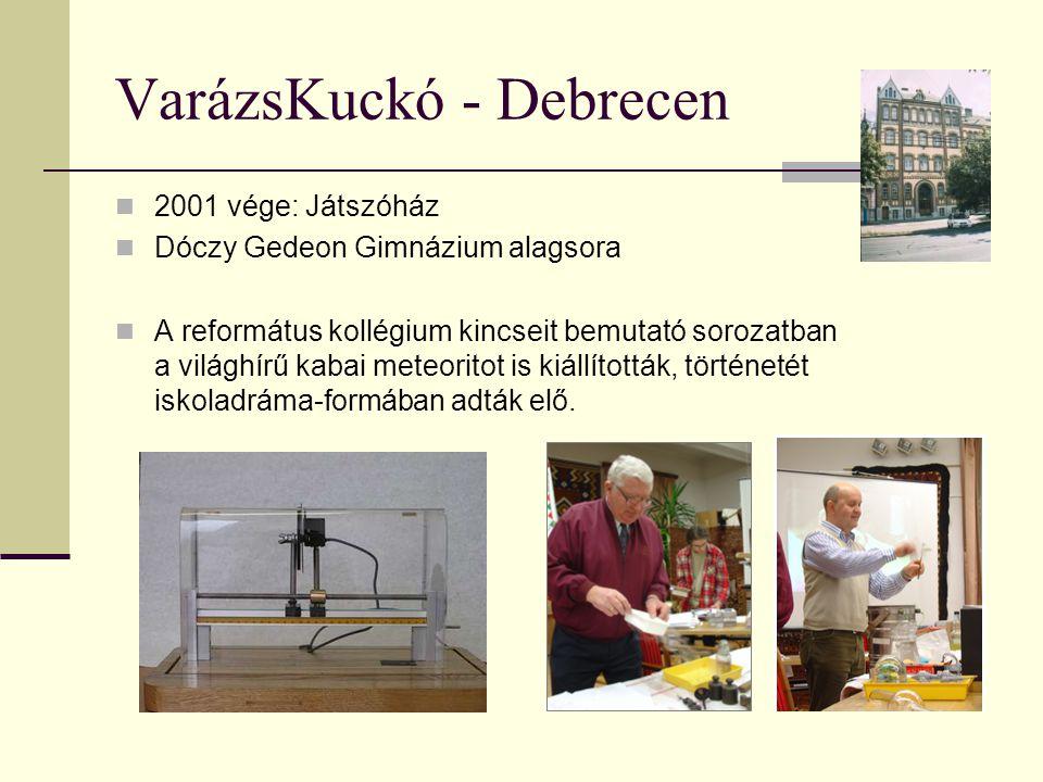 VarázsKuckó - Debrecen