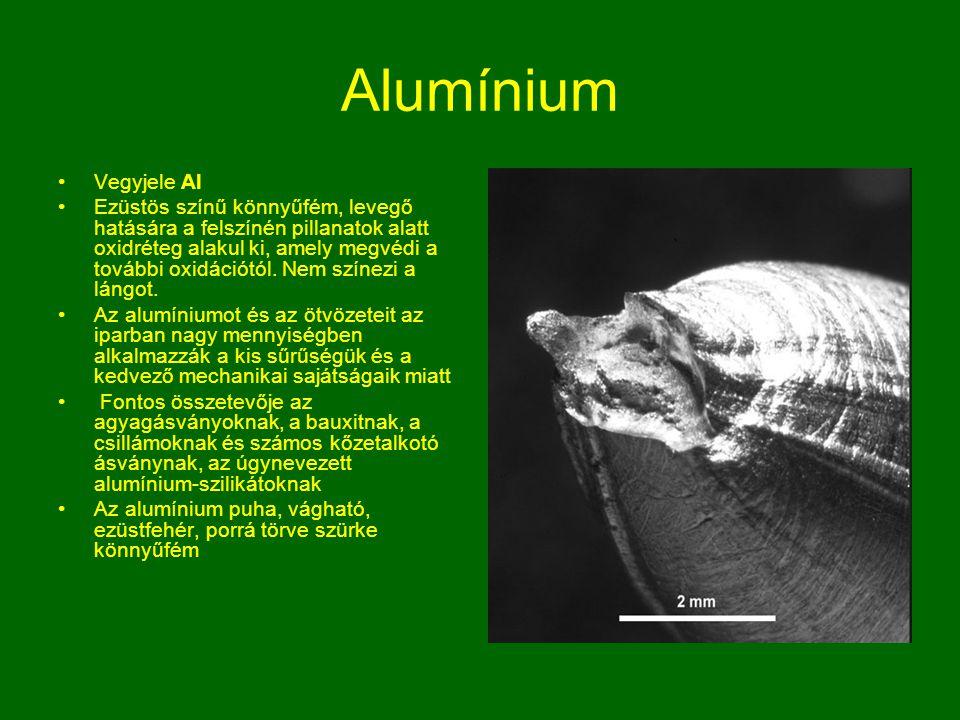 Alumínium Vegyjele Al.