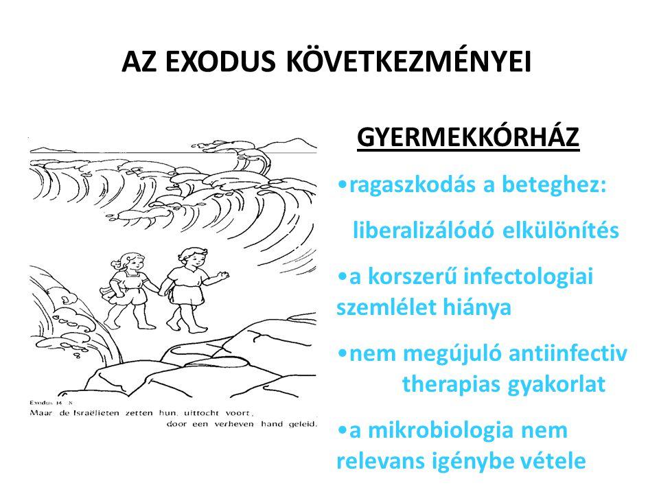 AZ EXODUS KÖVETKEZMÉNYEI