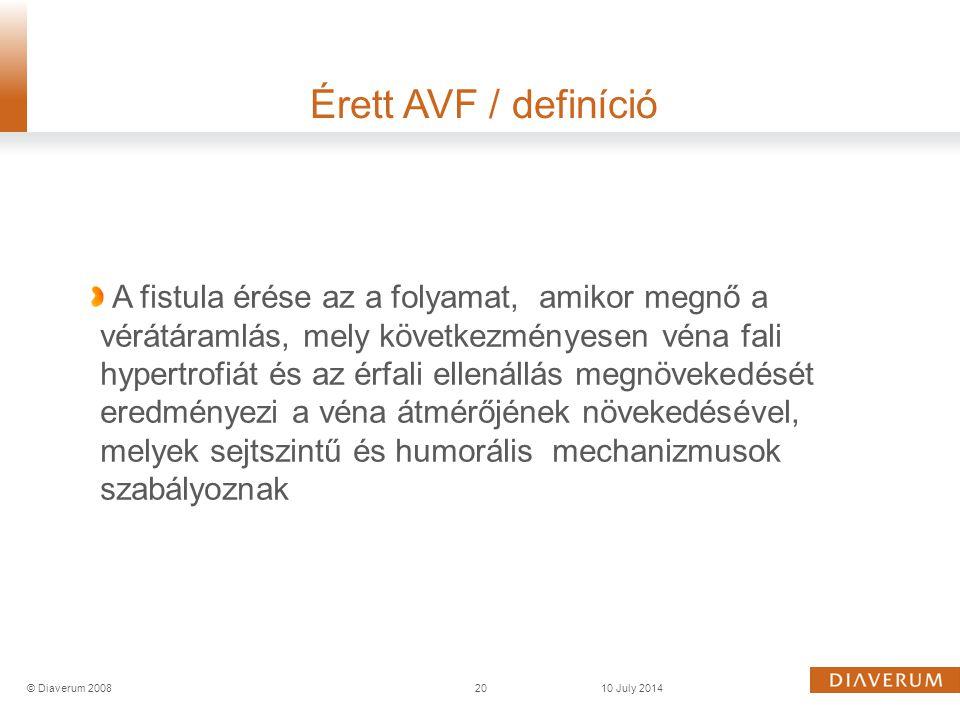 Érett AVF / definíció