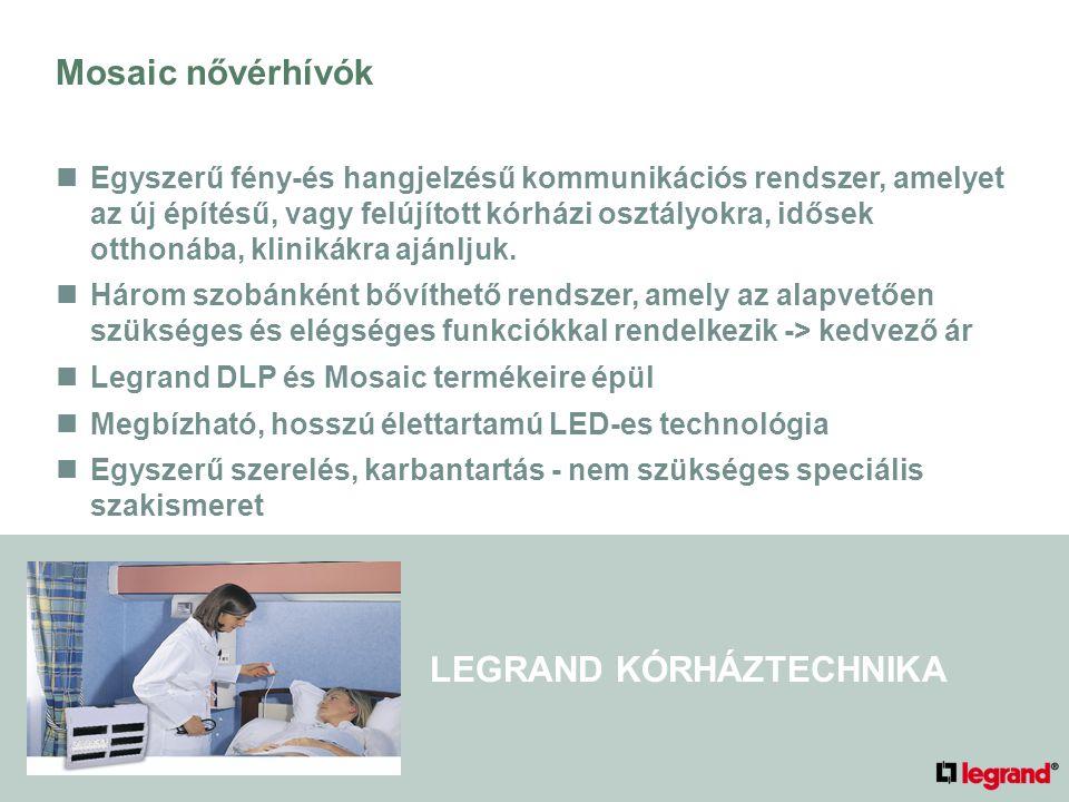 LEGRAND KÓRHÁZTECHNIKA