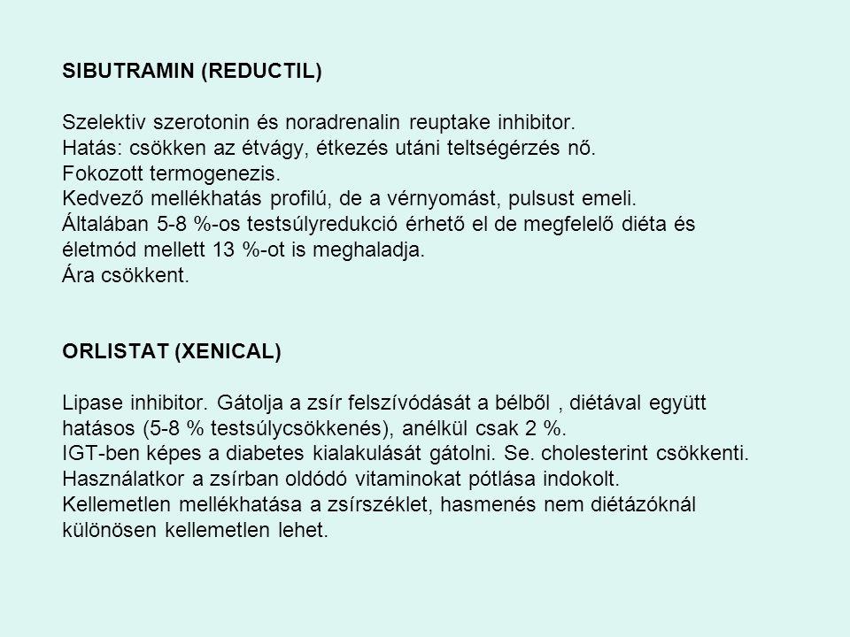 SIBUTRAMIN (REDUCTIL)
