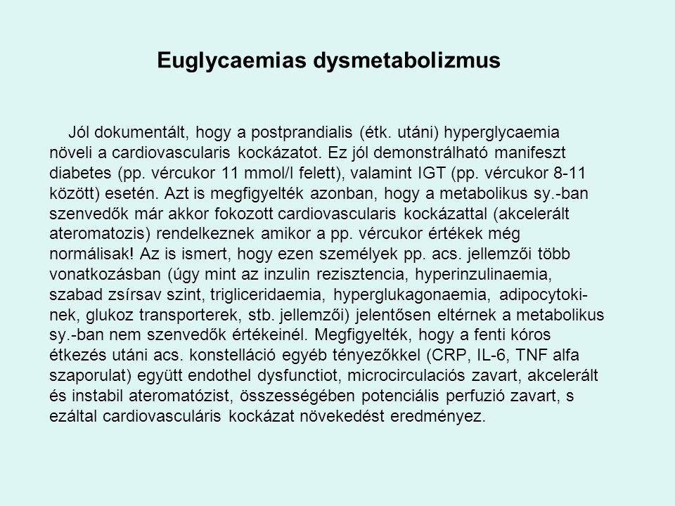 Euglycaemias dysmetabolizmus