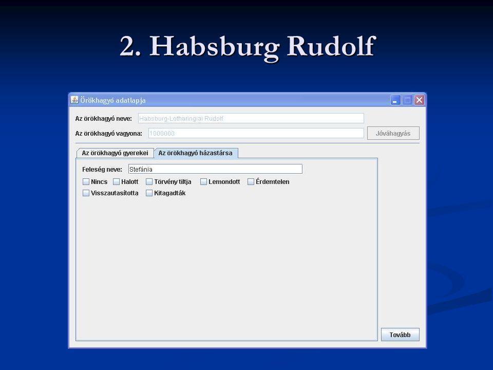 2. Habsburg Rudolf