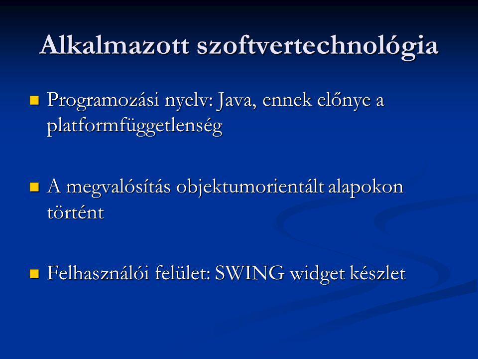 Alkalmazott szoftvertechnológia