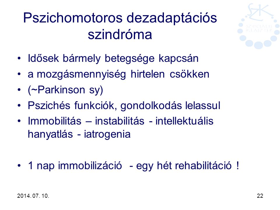 Pszichomotoros dezadaptációs szindróma