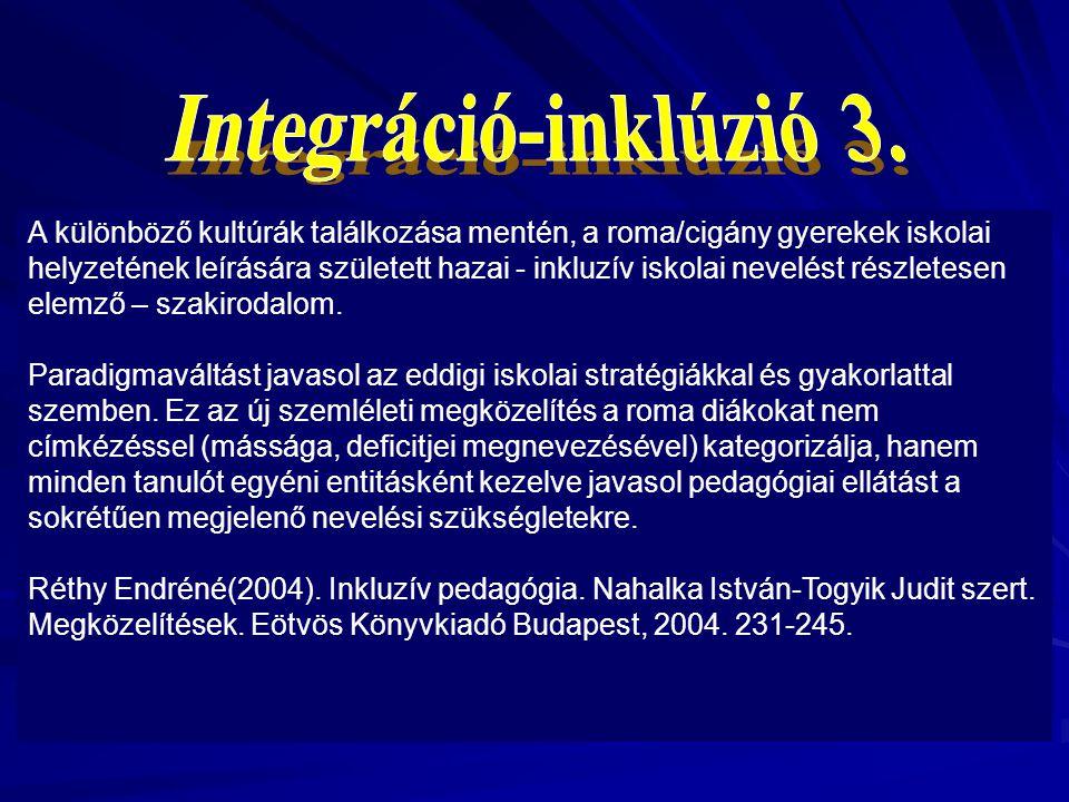 Integráció-inklúzió 3.