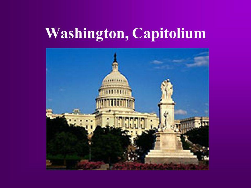 Washington, Capitolium