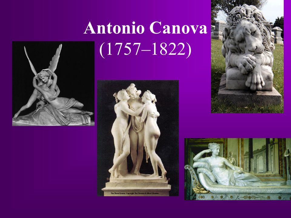 Antonio Canova (1757–1822)
