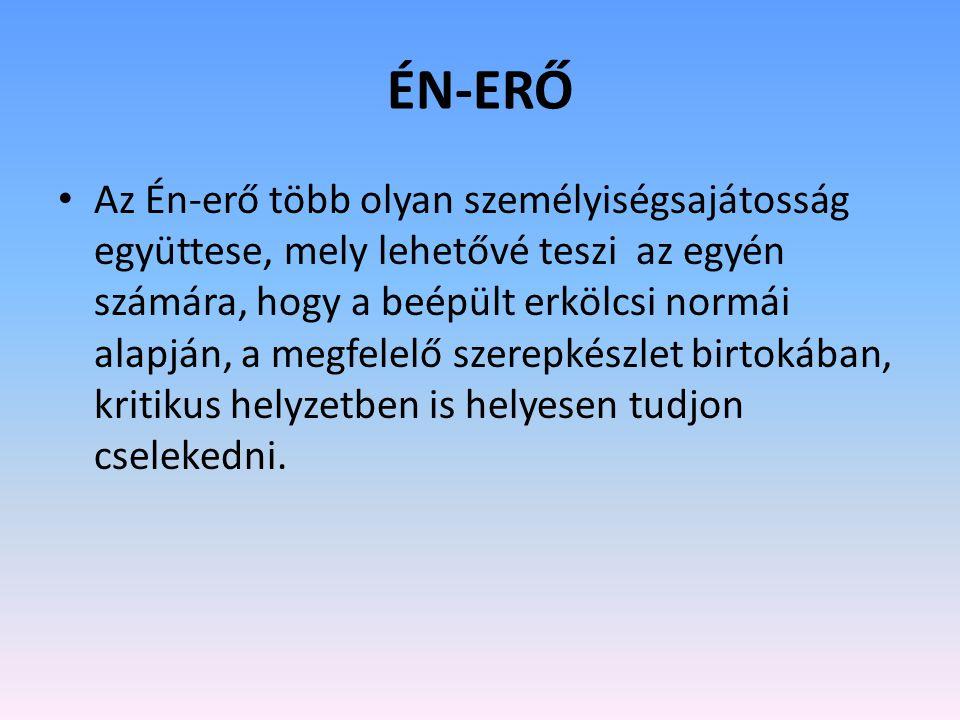 ÉN-ERŐ