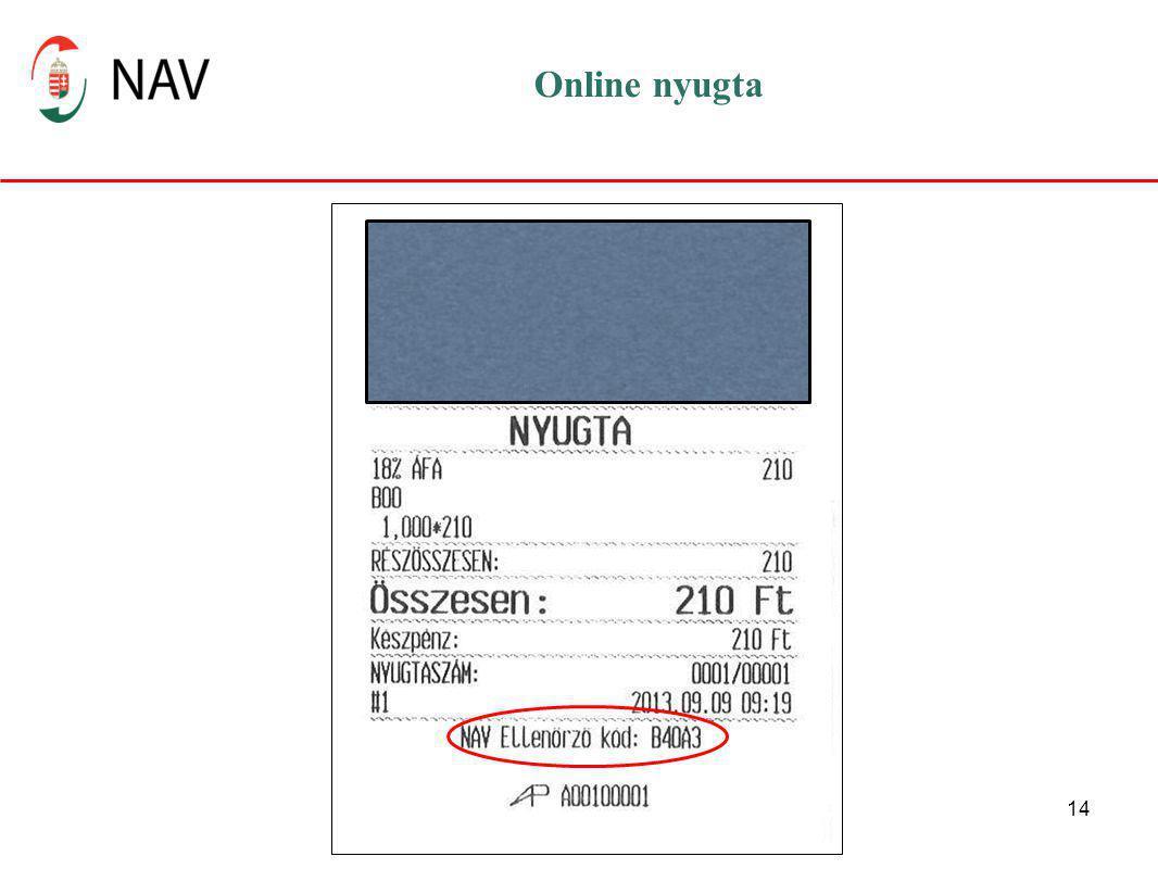 Online nyugta Az AP szám az adóügyi ellenőrző egység egyedi azonosítója – ami így magát a pénztárgépet is azonosítja.