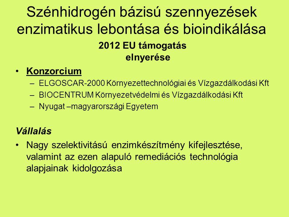 2012 EU támogatás elnyerése