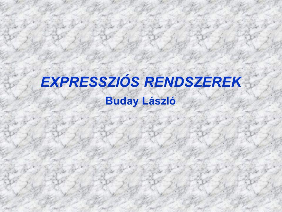 EXPRESSZIÓS RENDSZEREK