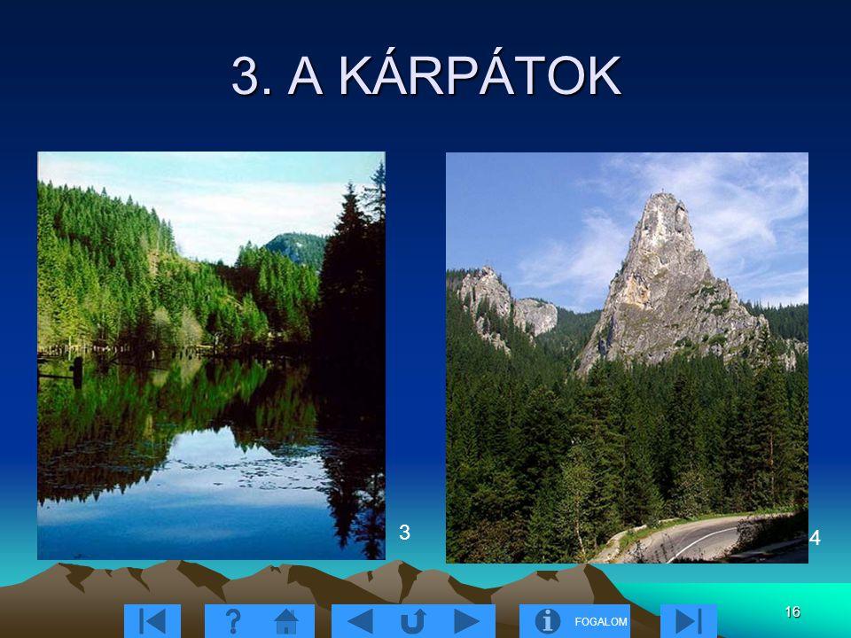 3. A KÁRPÁTOK 3 4