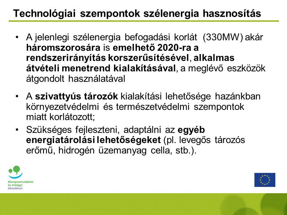 Technológiai szempontok szélenergia hasznosítás