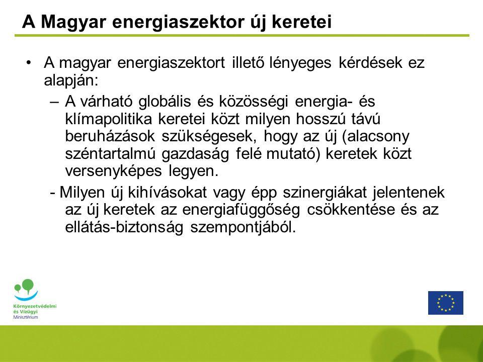 A Magyar energiaszektor új keretei