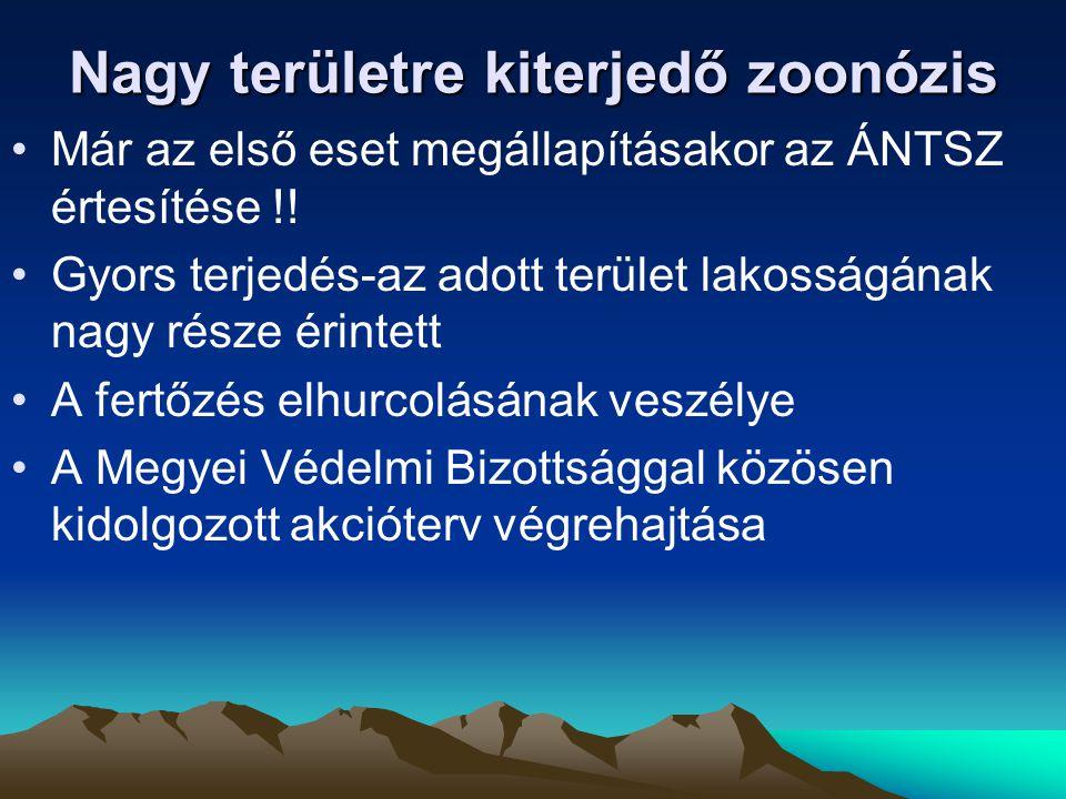 Nagy területre kiterjedő zoonózis