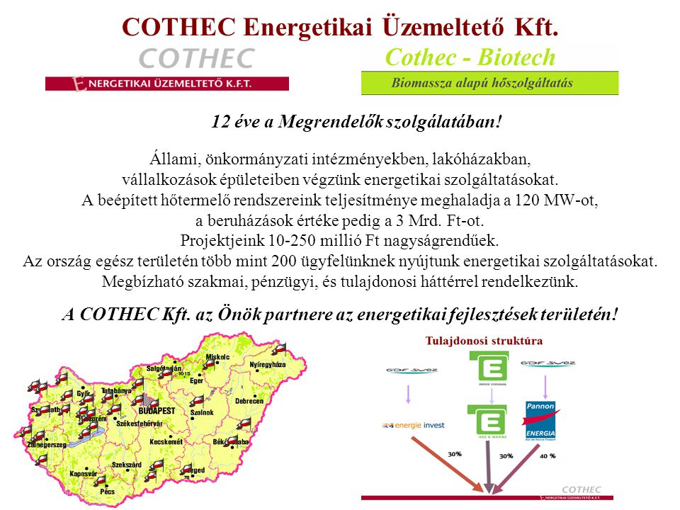 COTHEC Energetikai Üzemeltető Kft.