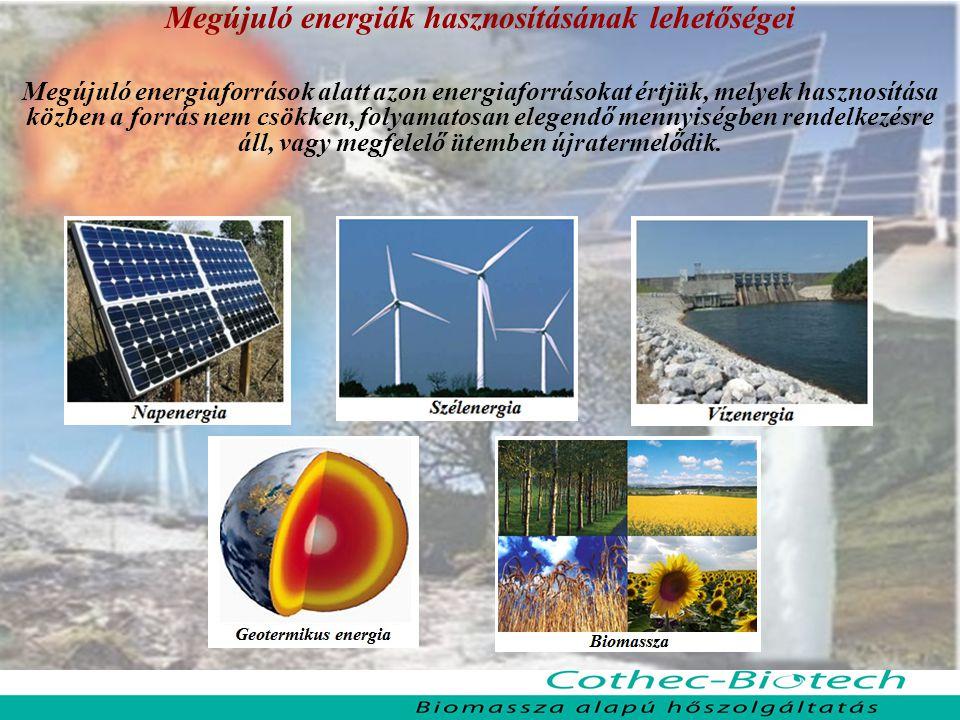 Megújuló energiák hasznosításának lehetőségei