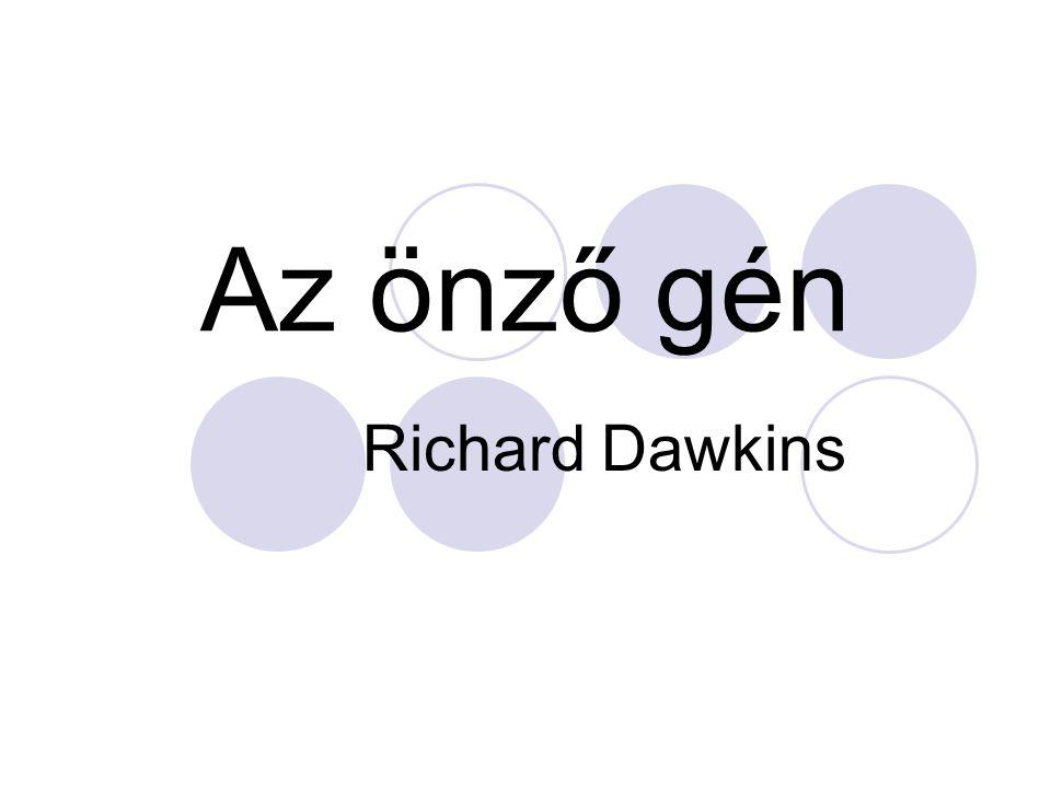 Az önző gén Richard Dawkins