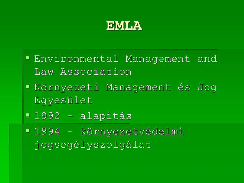 EMLA Environmental Management and Law Association