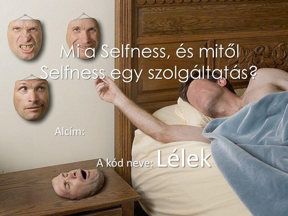 Mi a Selfness, és mitől Selfness egy szolgáltatás