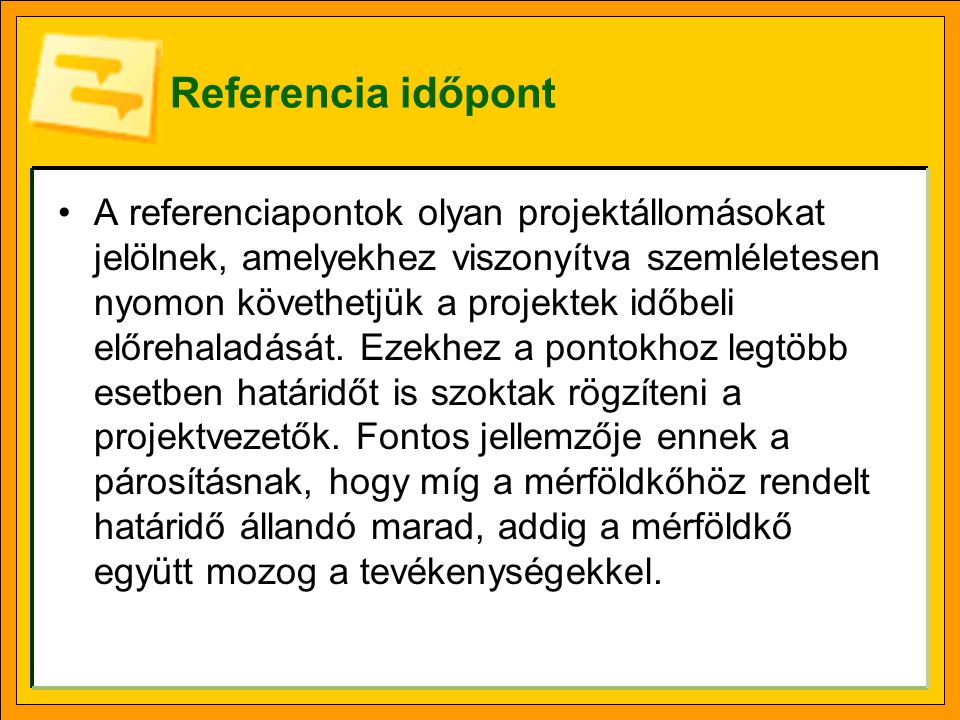 Referencia időpont