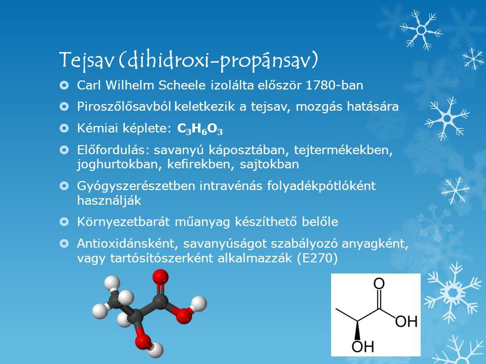 Tejsav (dihidroxi-propánsav)