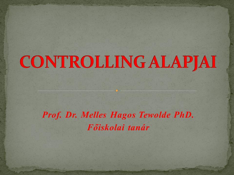 Prof. Dr. Melles Hagos Tewolde PhD. Főiskolai tanár