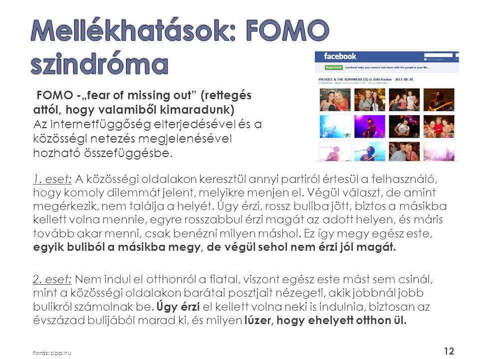 Mellékhatások: FOMO szindróma
