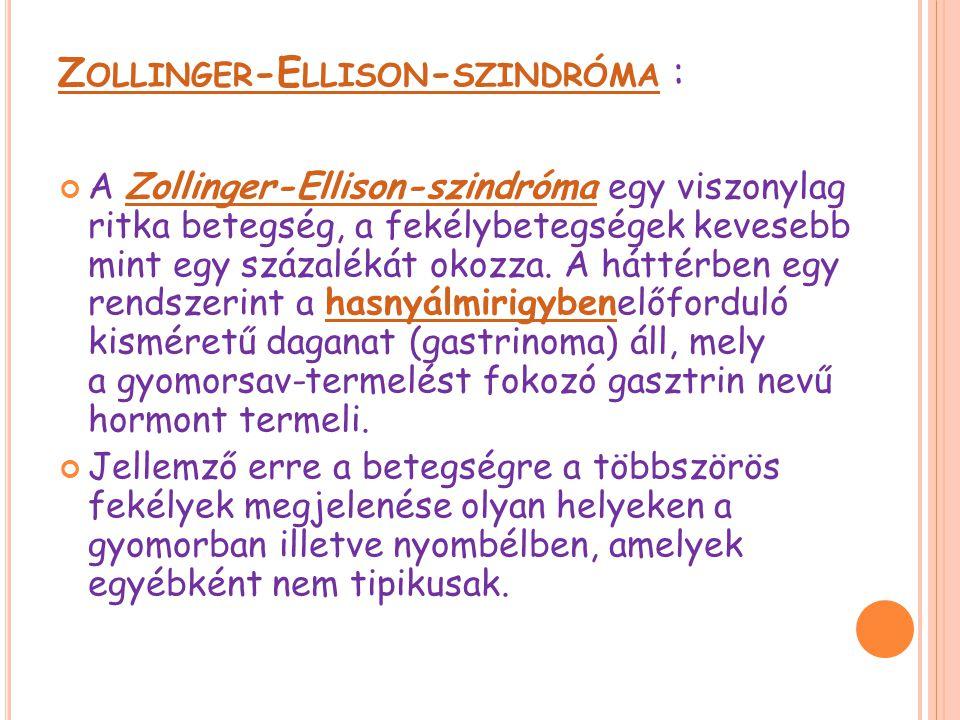 Zollinger-Ellison-szindróma :