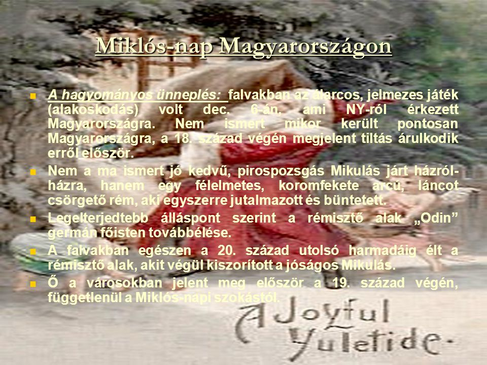 Miklós-nap Magyarországon