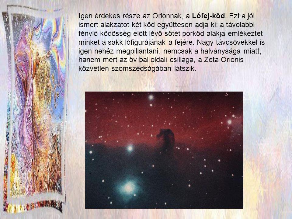 Igen érdekes része az Orionnak, a Lófej-köd