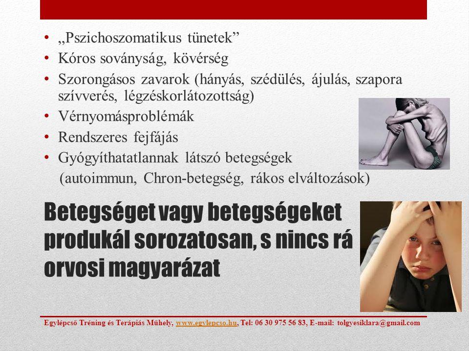 """""""Pszichoszomatikus tünetek"""