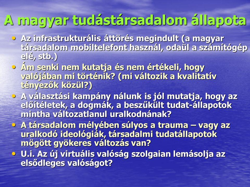 A magyar tudástársadalom állapota