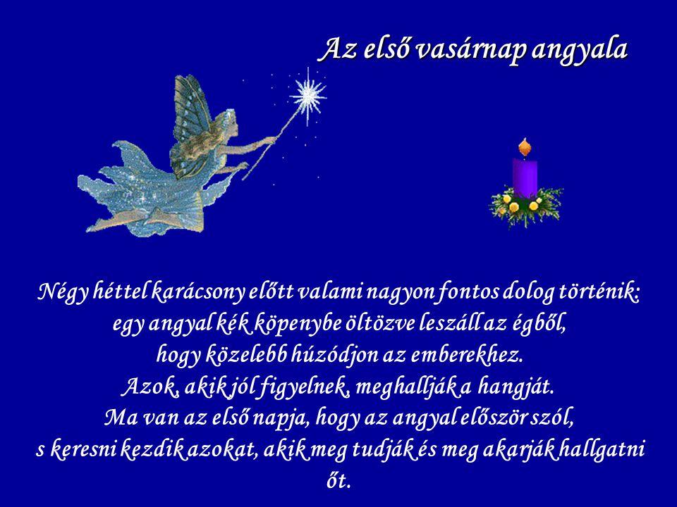 Az első vasárnap angyala