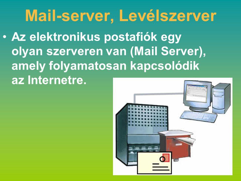 Mail-server, Levélszerver