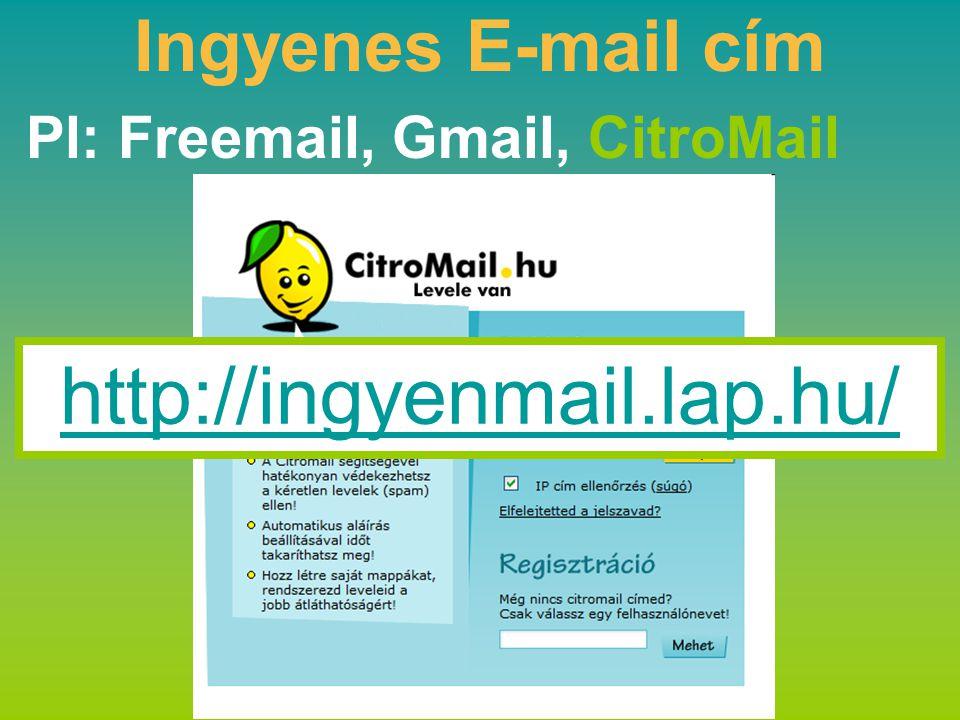 Pl: Freemail, Gmail, CitroMail