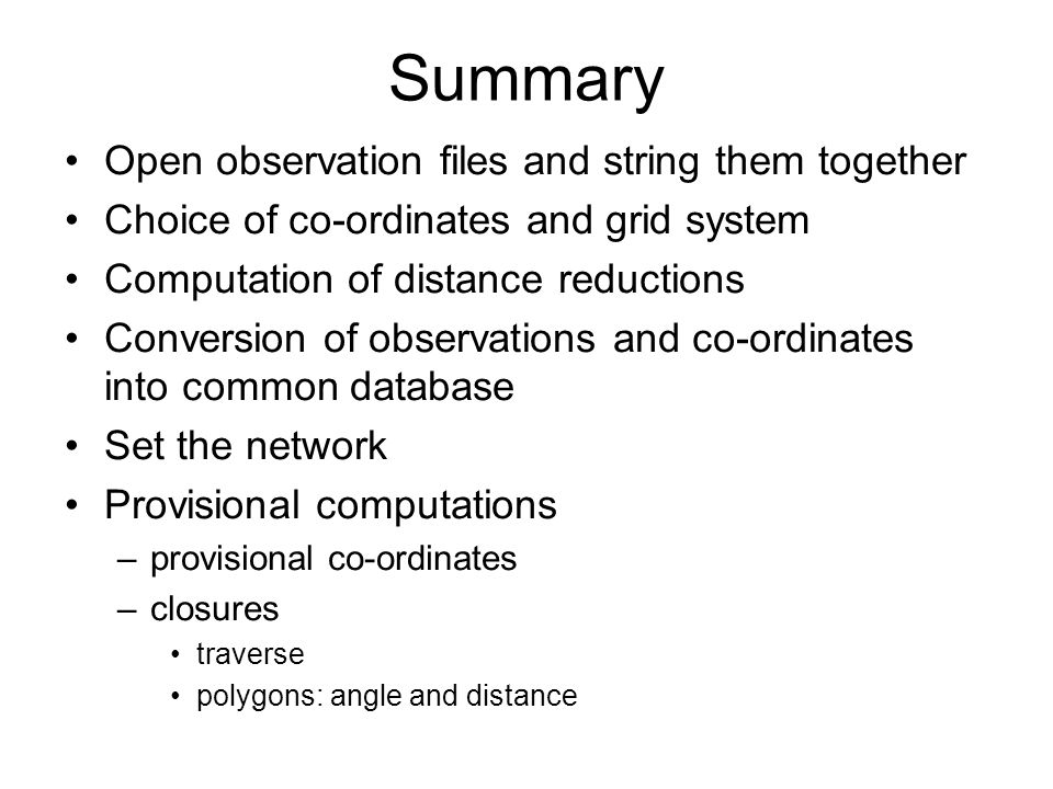 Summary Open observation files and string them together